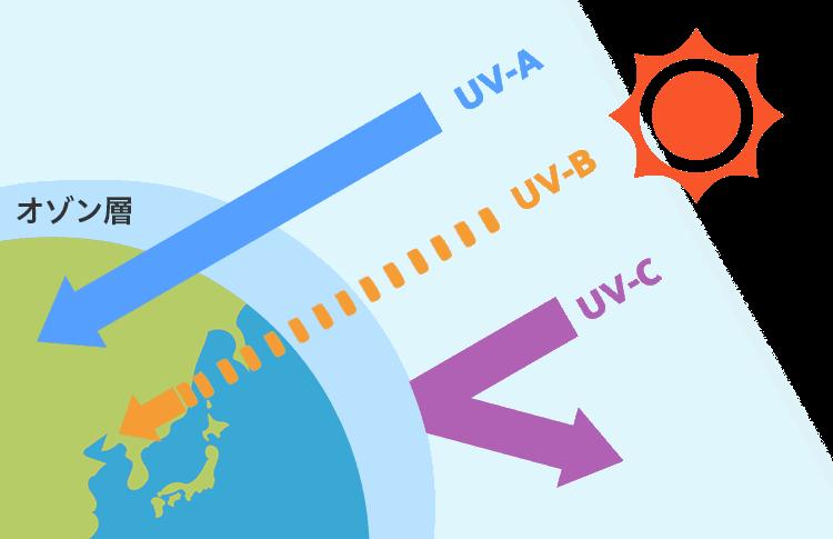 紫外線とオゾン層