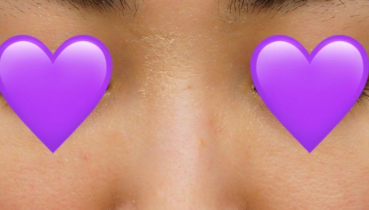 ベビーオイル洗顔実践