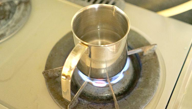 白湯を作る